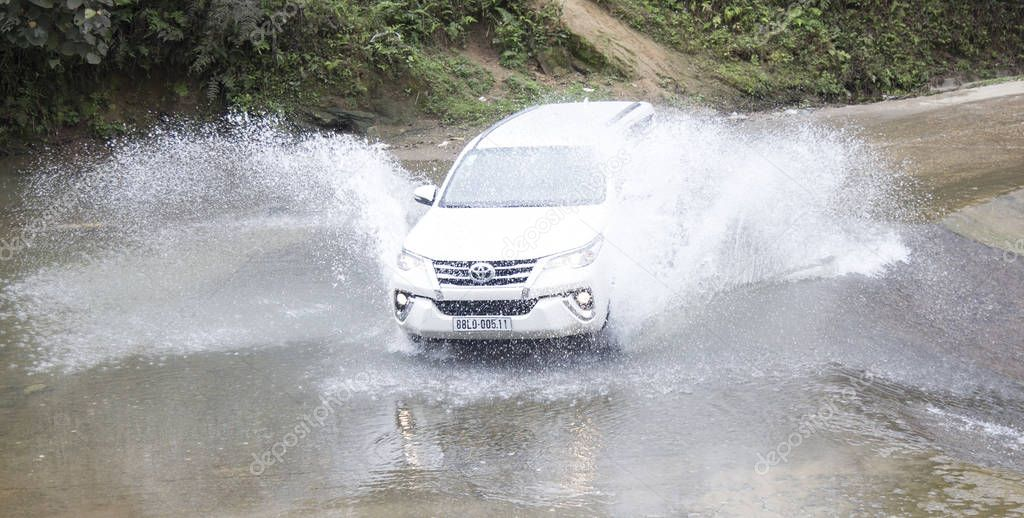 Toyota Fortuner in test drive