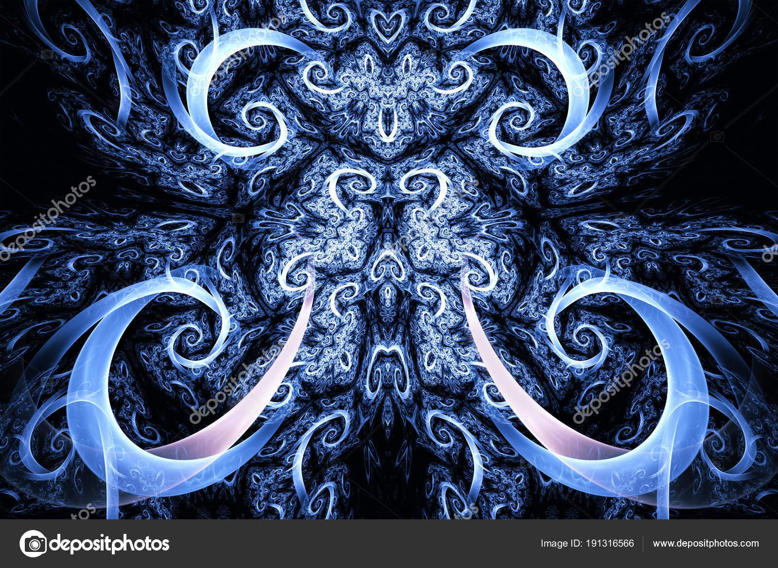 Abstrakte Fraktal Hintergrund. Detailreichen Hintergrund mit lila ...