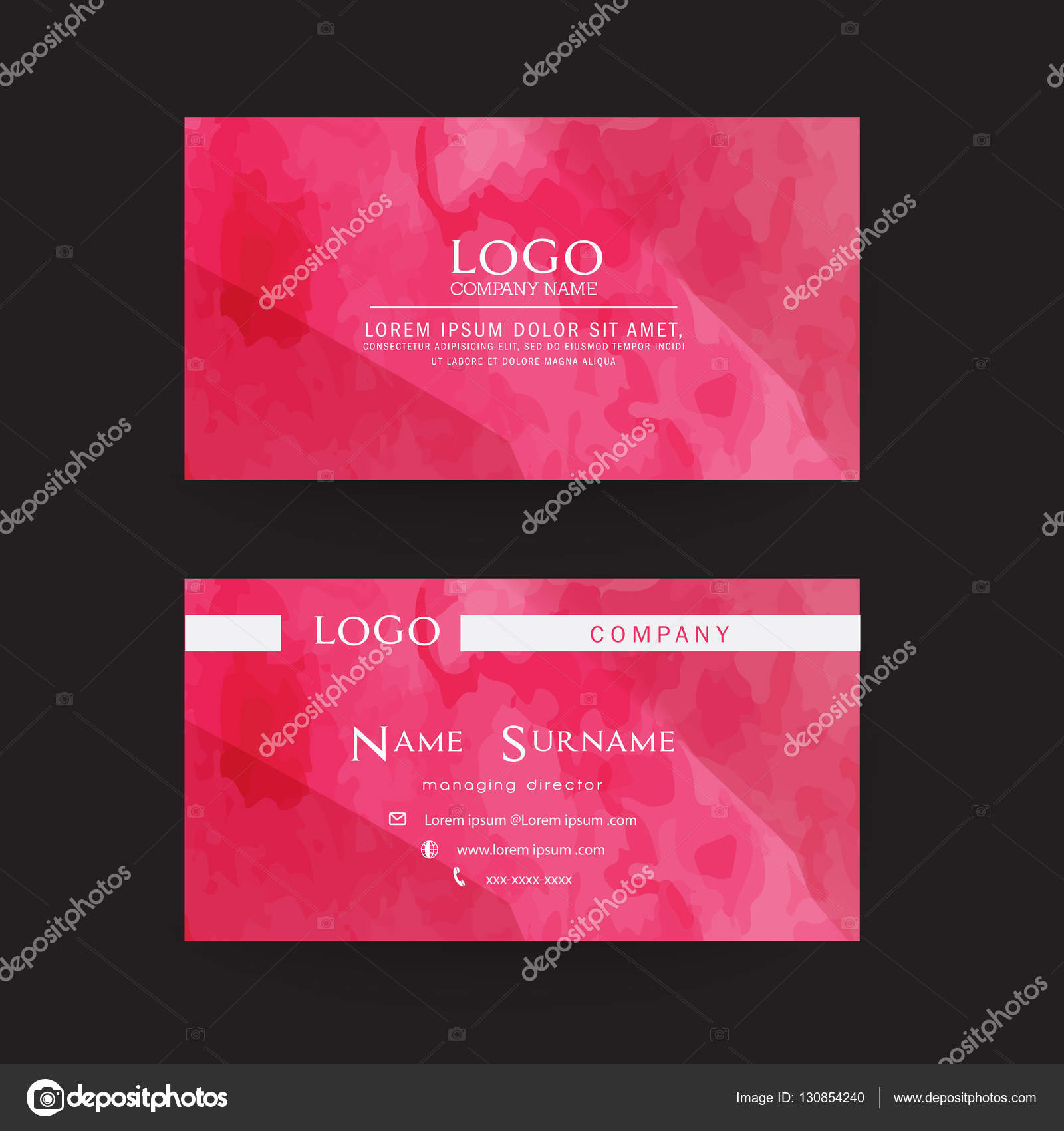 Name card modern simple business card template vector name card modern simple business card template vector illustration stock vector 130854240 colourmoves