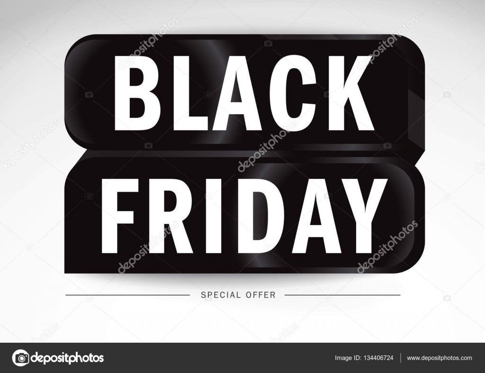 Black Friday Umsatz, Band Special Offer - Black Friday Banner. Icon ...