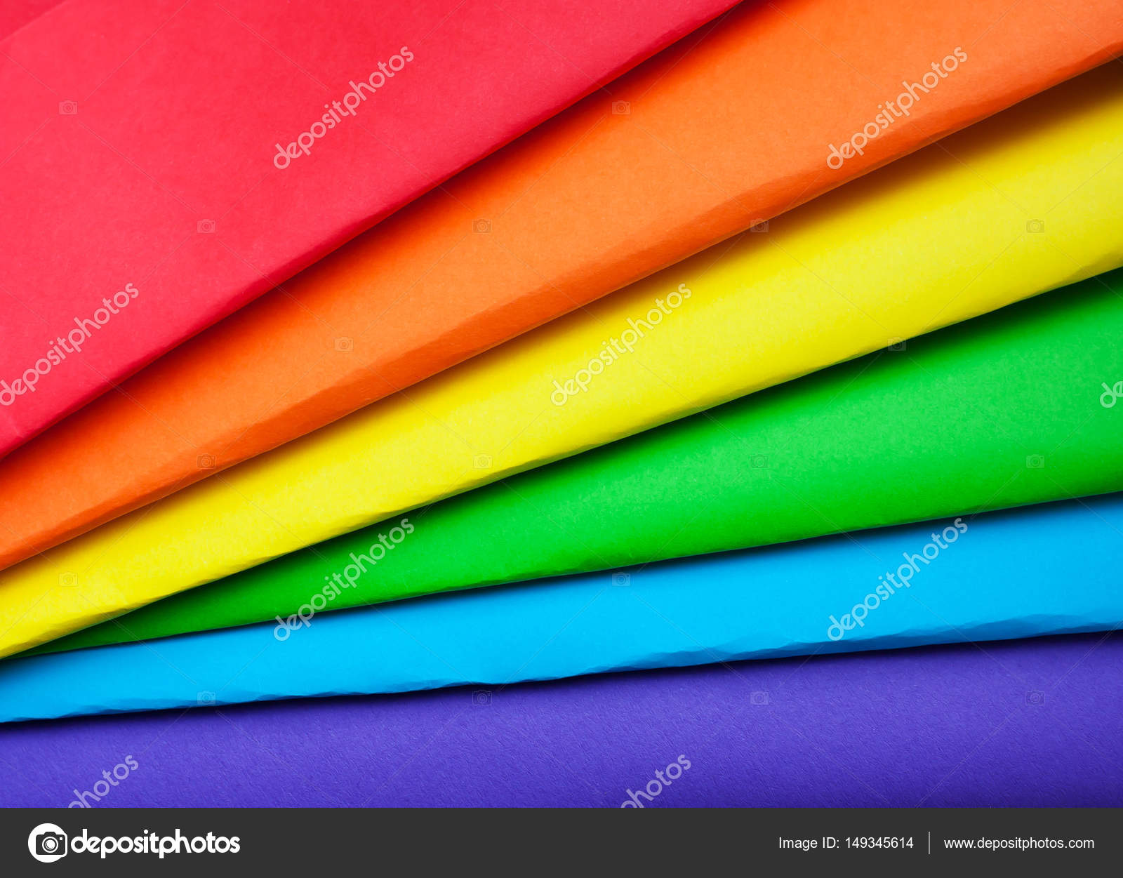 The Colors Of The Rainbow The Symbol Of Lgbt Stock Photo