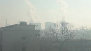 Smog v Ostravě, prachu ve vzduchu, nebezpečí pro lidské zdraví kalamita
