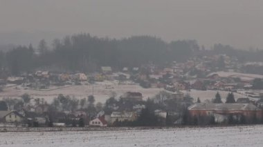 Smog v Ostravě vesnici, prachu ve vzduchu, nebezpečí pro lidské zdraví