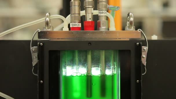 Algae research in the reactor, modern science