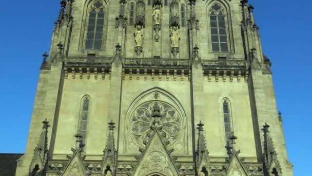 Krásný kostel St. Wenceslas Cathedral v Olomouci