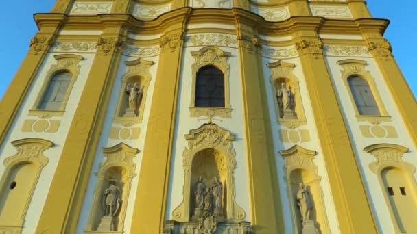 Poutní kostel Ocistovani Panny Marie 1755 v Dub nad Moravou