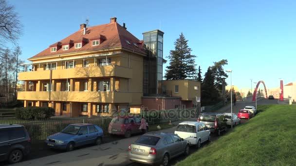 Olomouc, Česká republika, 17 listopadu 2017: dítě ústavu budova pro novorozence kojenecká kdo opuštěné nebo nechtěl, aby matky. Společnost velmi důležité zařízení sestra dítě děti