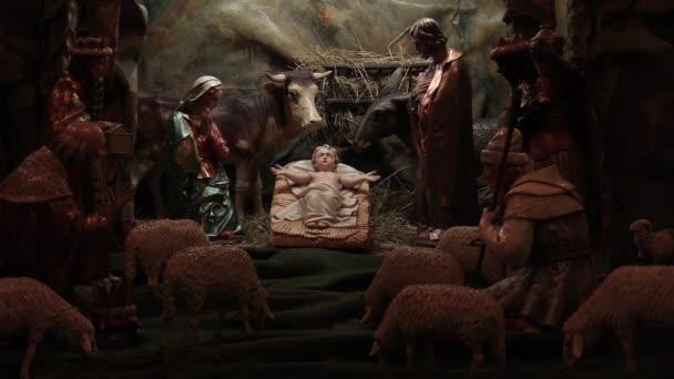 Bethlehem Hand geschnitzt aus Holz, schöne Krippe Kinderkrippe Statuen von Jesus Christus ein kleines baby