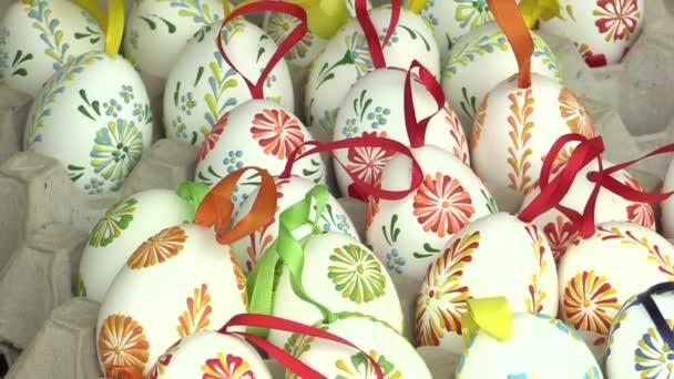 Velikonoční lakované a voskované vejce, tradiční lidová řemesla a kulturní dědictví na Hané v městě Olomouc v křesťanských svátků a oslav Paschal, Česká Běloruska