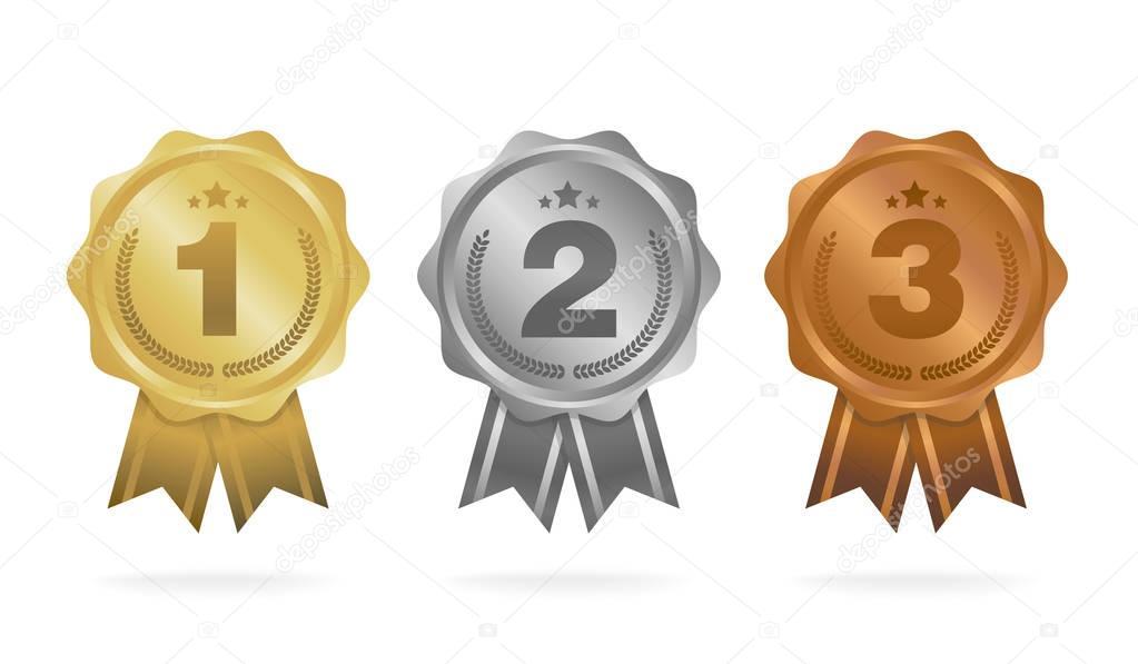 Medalla Primer Segundo Y Tercer Lugar