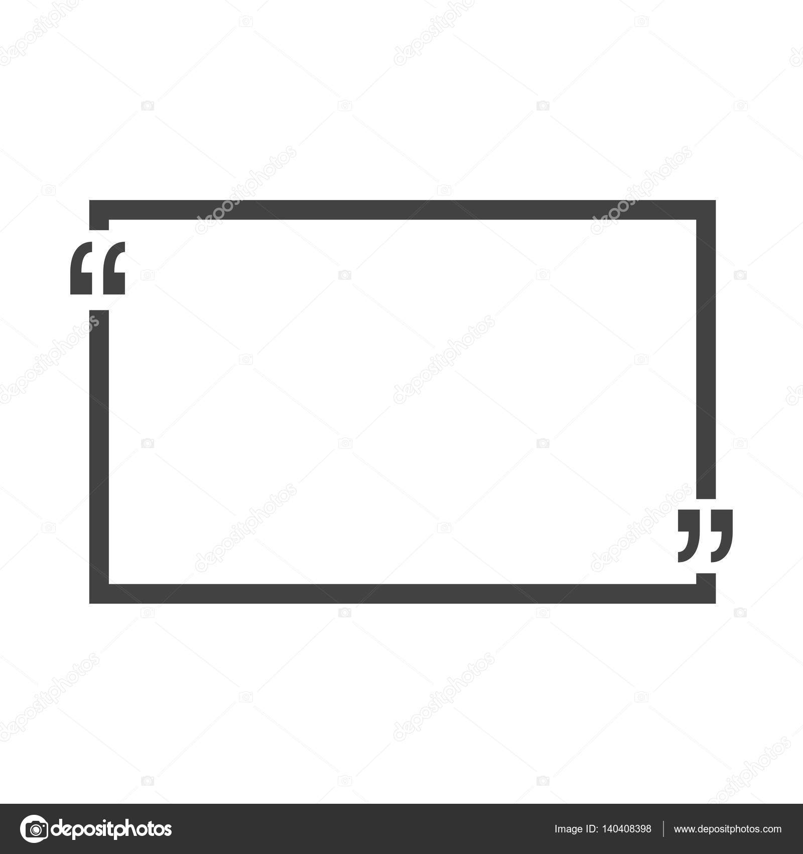 Quote bubble blank templates empty business card paper sheet quote bubble blank templates empty business card paper sheet information text print design vector illustration vector by vectorplus reheart Image collections