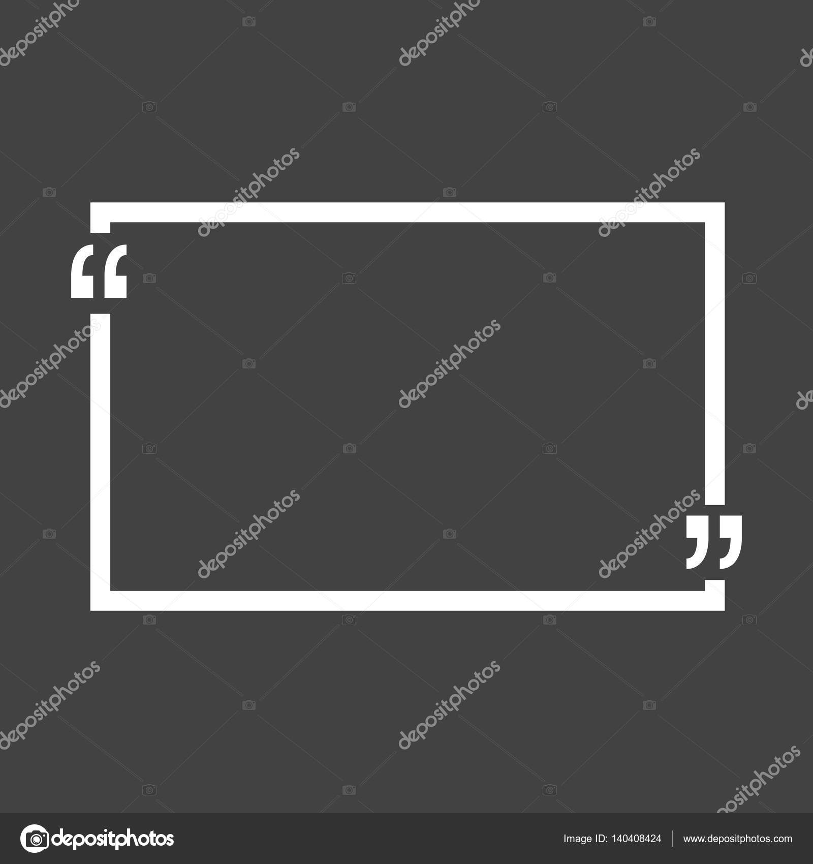 quote bubble blank templates empty business card paper sheet