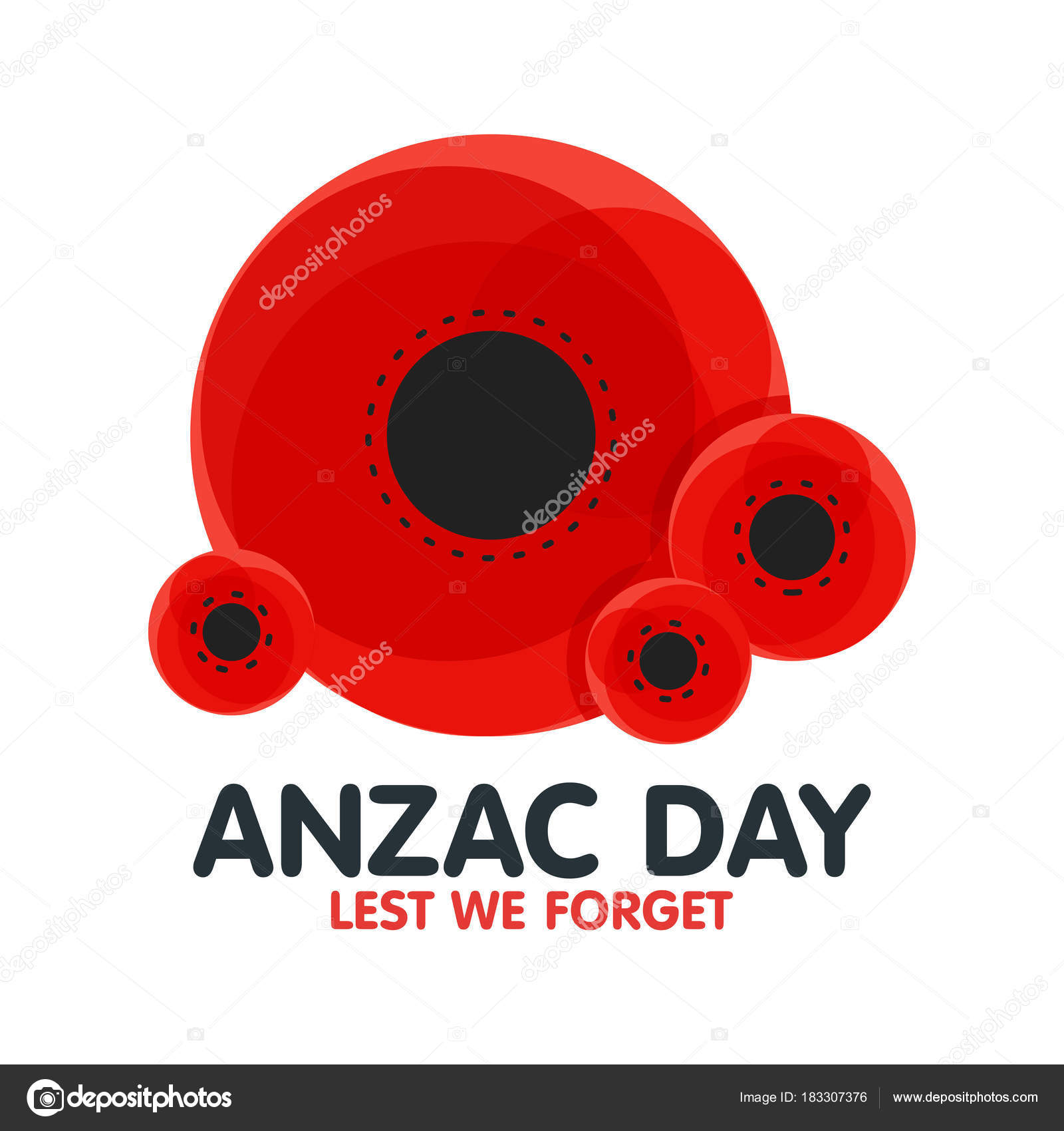 Bright poppy flower remembrance day symbol anzac day in bright poppy flower remembrance day symbol anzac day in australia lest we forget buycottarizona