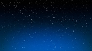 Space Stars Background. Empty wallpaper backdrop. Vector Illustration of The Night Sky.