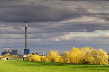 Heating plant in Zagreb