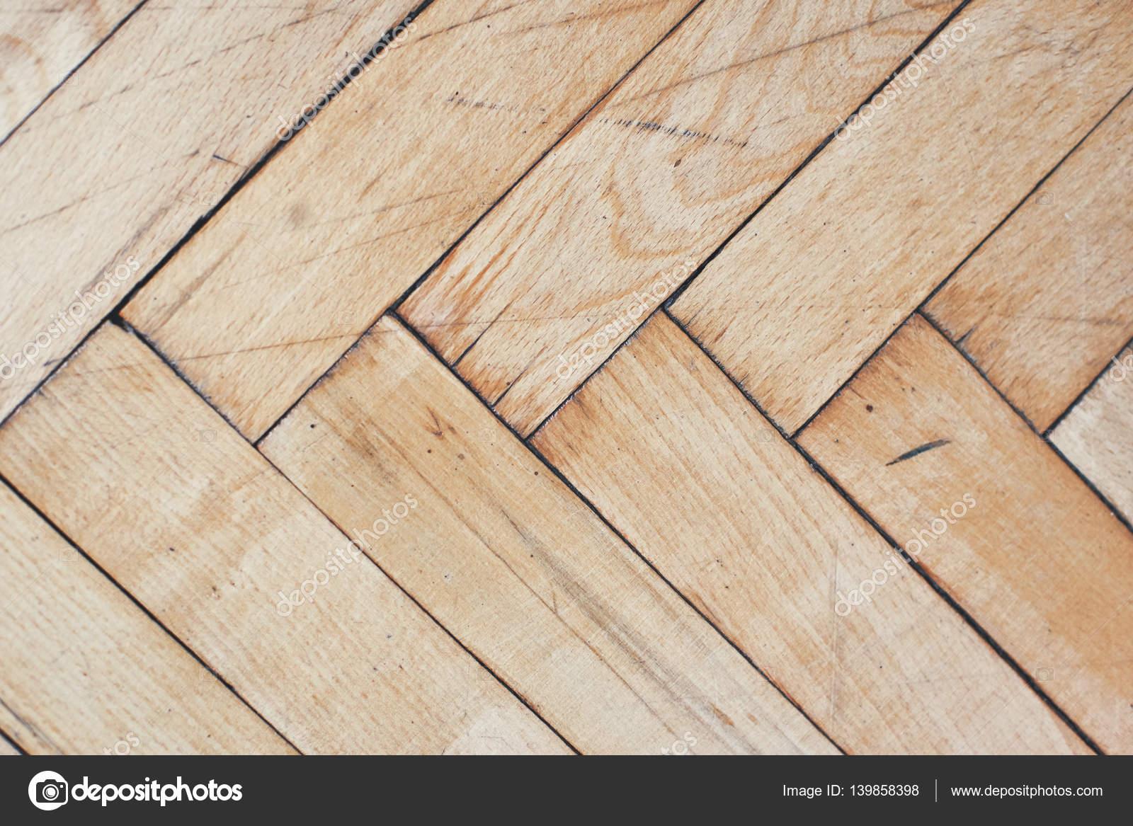 Gebruikte Houten Vloer : Rustieke noodlijdende houten vloer u stockfoto derepente