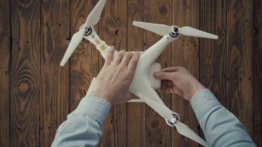 Tutorial of drone control