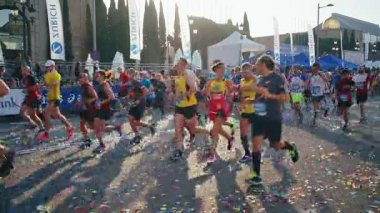 Marathon event in Barcelona