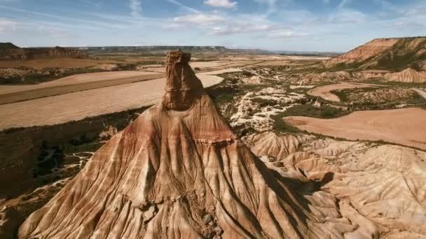Letecké záběry ze severu Španělska