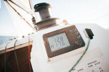 navigation device on yacht