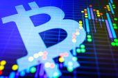 Datové analýze exchange akciový trh: svíčka znaků na dis
