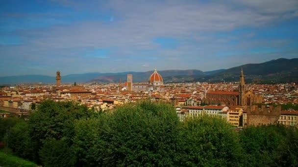 panoráma a város Firenze