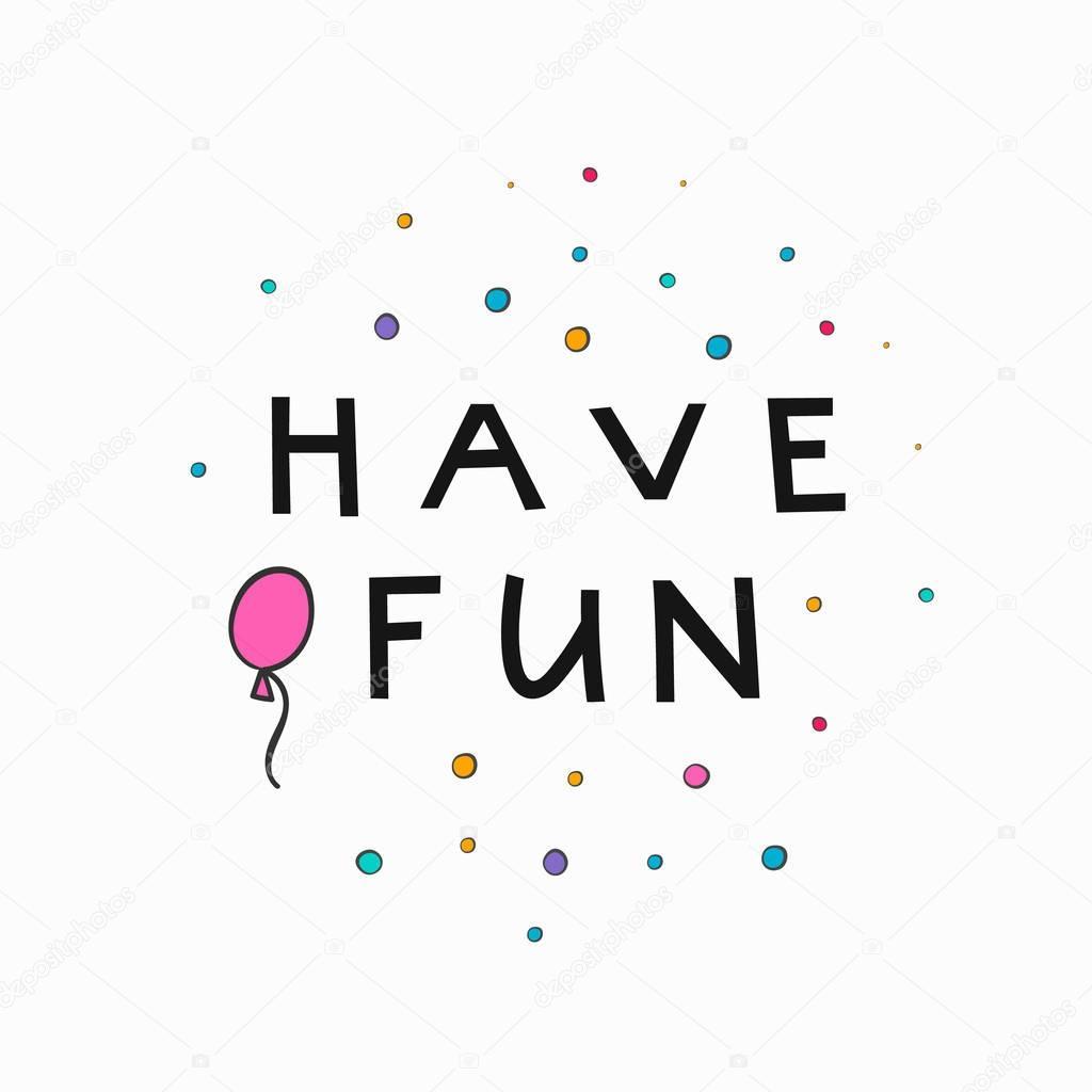 Happy Birthday Party Napis Typografia