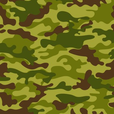 Picture with a military color of the ground color khaki stock vector