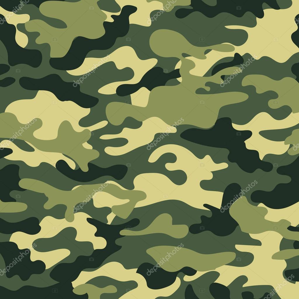 Image avec une couleur militaire le kaki au sol — Image