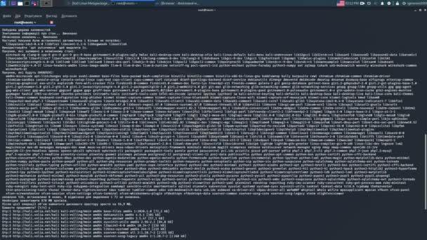 Dolgozz hackerrel az operációs rendszerrel. kali-linux