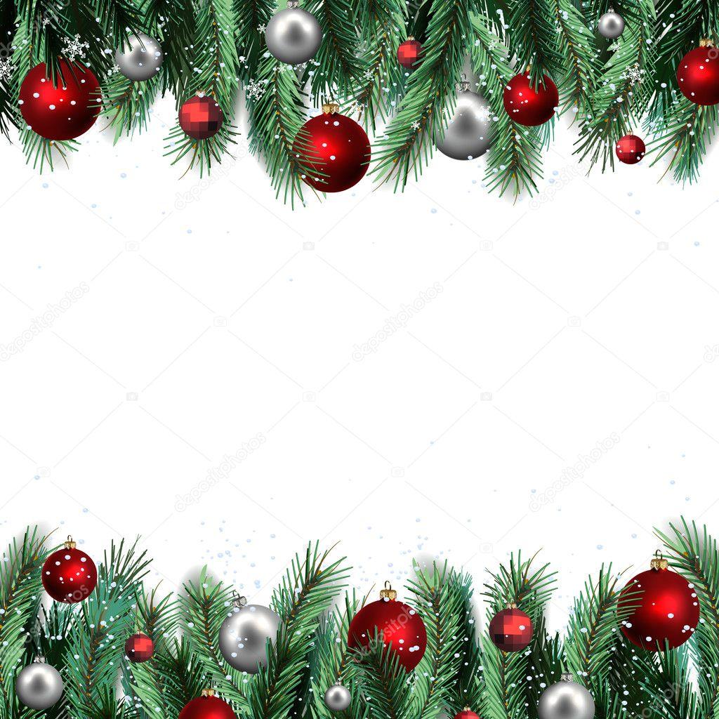 Marcos Para Fotos De Arbol De Navidad.Marcos Y Bordes De Navidad El Marco De La Fiesta De