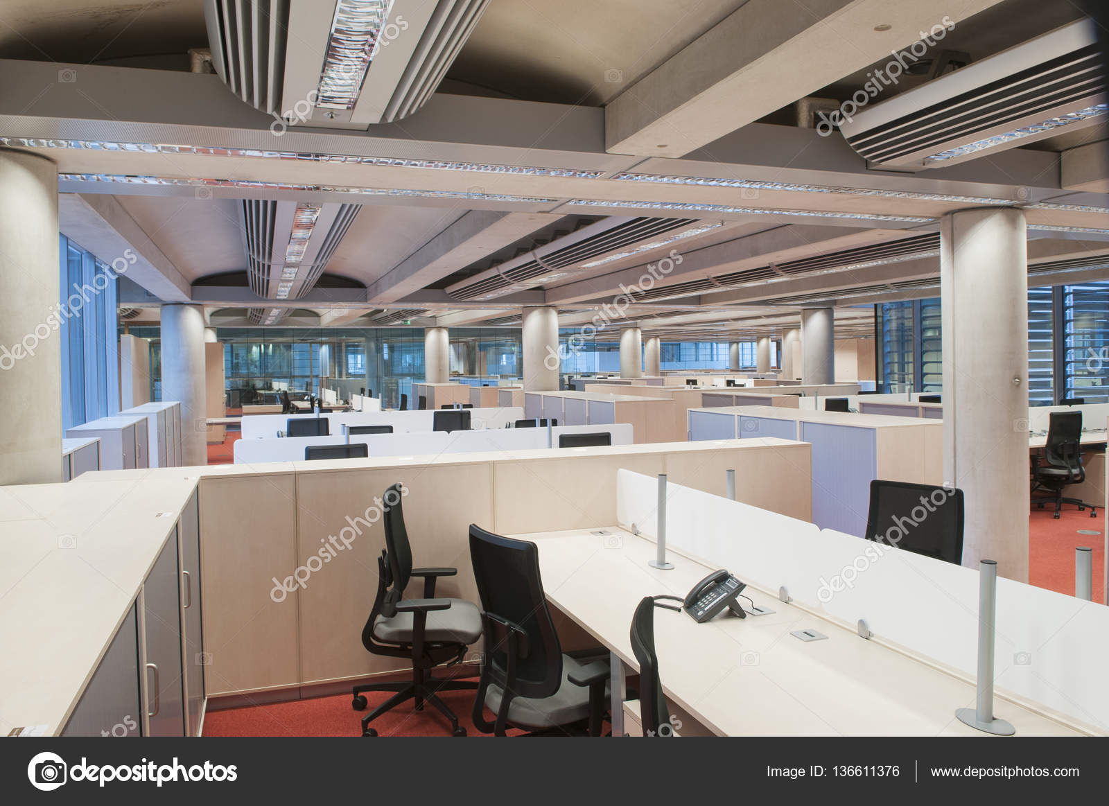 moderne Büro-Interieur — Stockfoto © stock@photographyfirm.co.uk ...