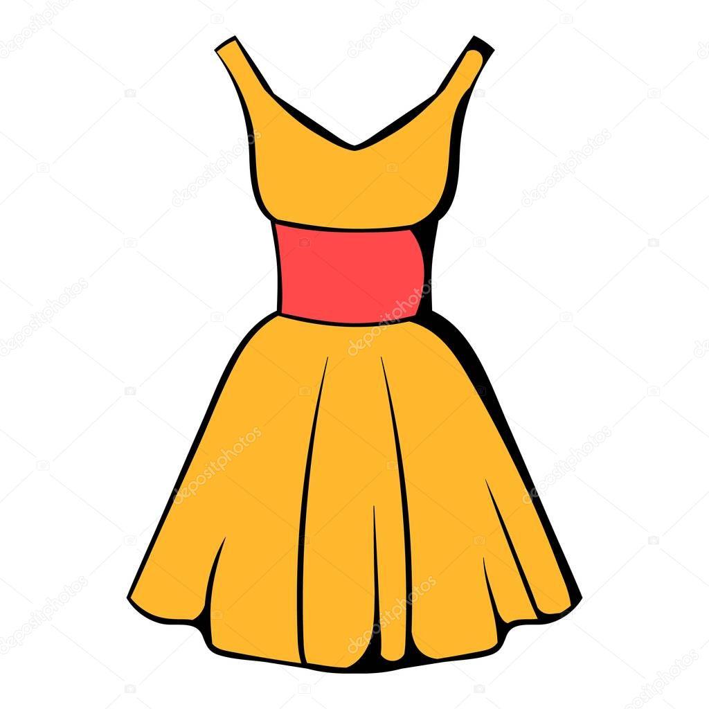 Cartoon Dressing Gown: Stockvektor © Juliarstudio