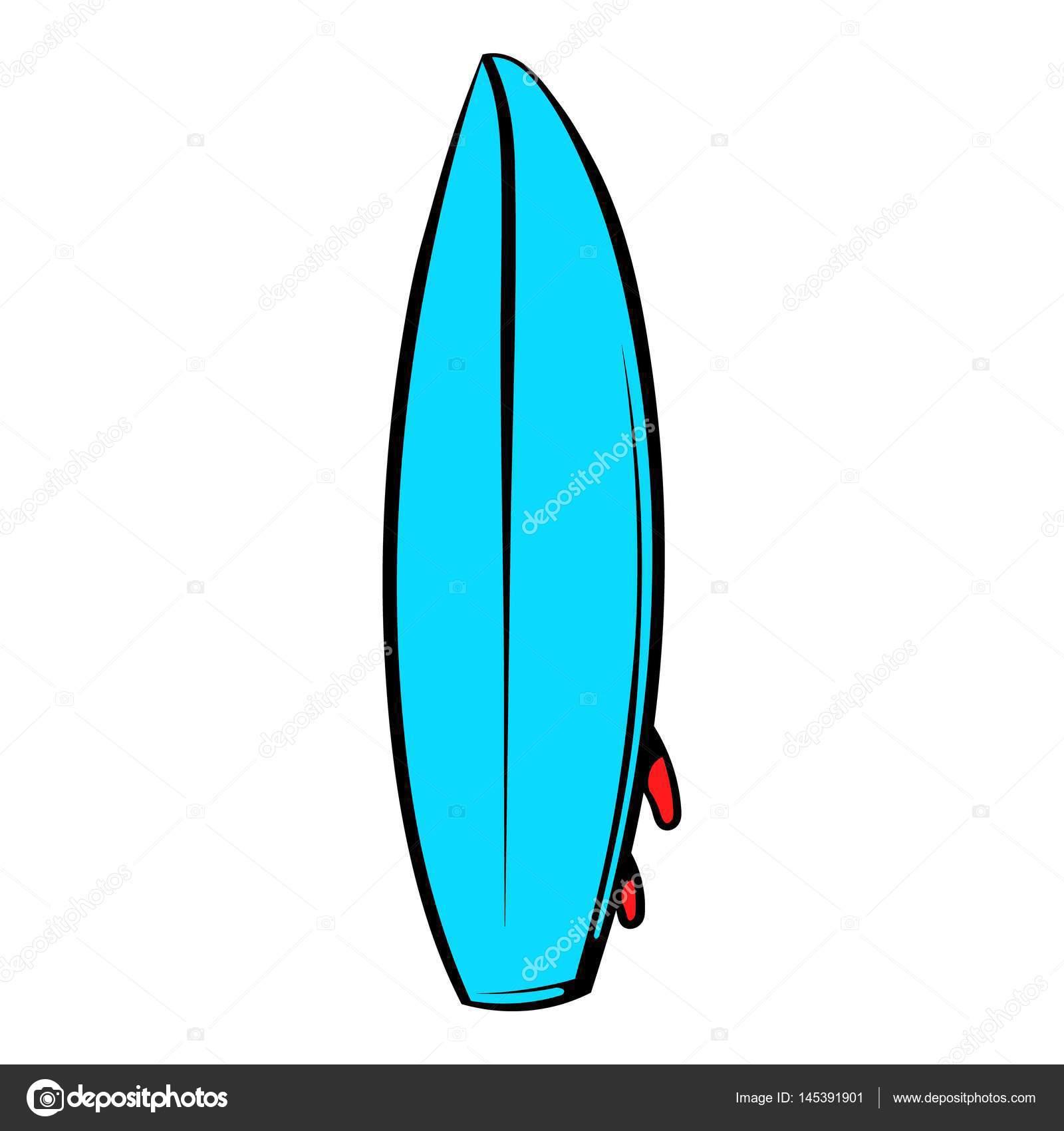 Icono de tabla de surf dibujos animados icono archivo - Fotos de tabla de surf ...