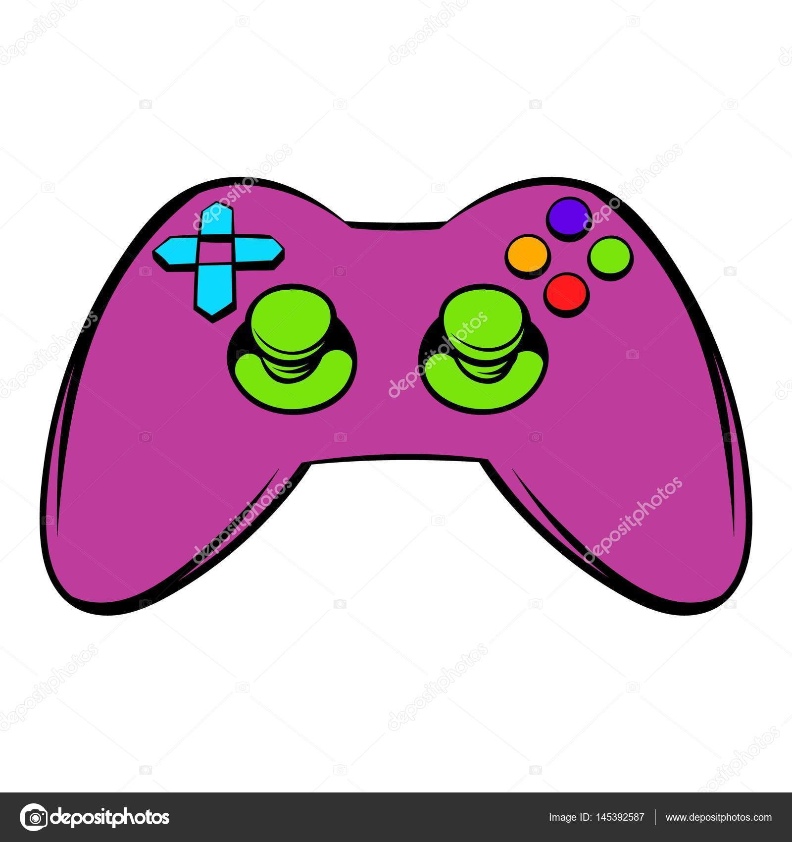 video game controller icon icon cartoon � stock vector