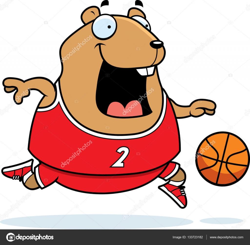 Kresleny Krecek Basketbal Stock Vektor C Cthoman 133723182