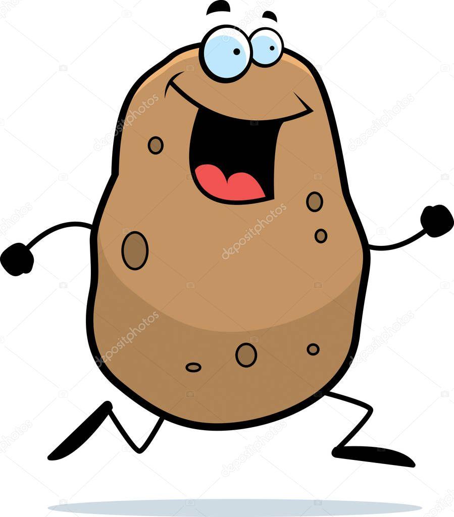 Госпожа картошка открытка, открытки