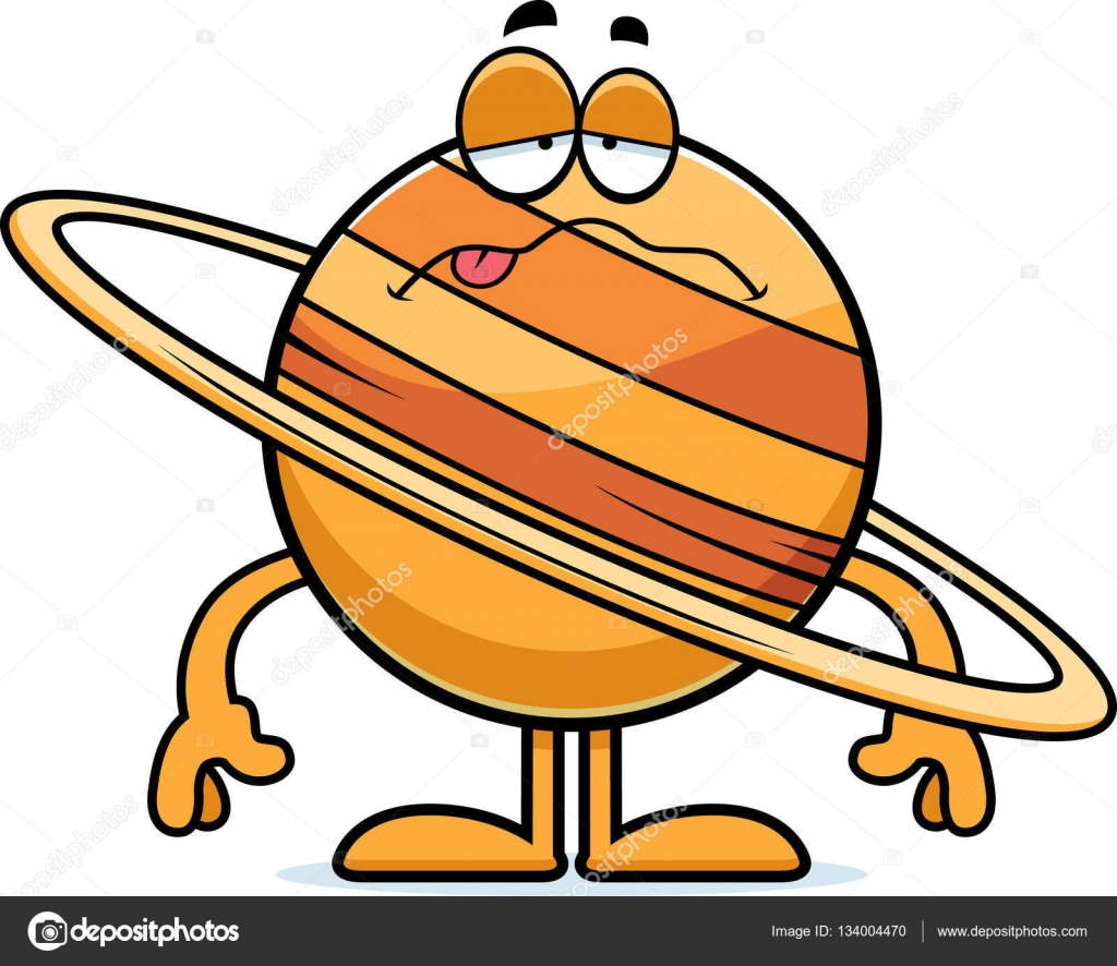 sick cartoon saturn stock vector cthoman 134004470 rh depositphotos com saturn clip art cartoon sega saturn clipart