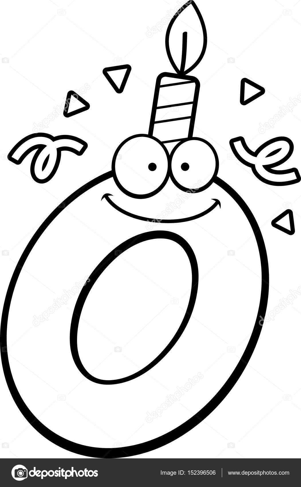 Letras En Forma De Globo Para Colorear Dibujos Animados
