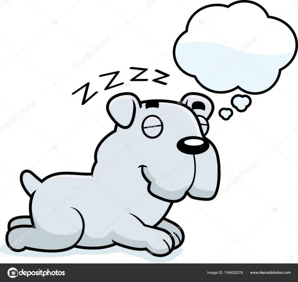 Bulldog dessin anim r ver image vectorielle cthoman - Bulldog dessin anime ...