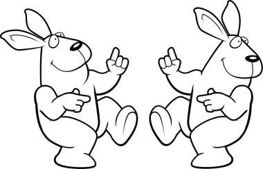 Cartoon Rabbit Dancing