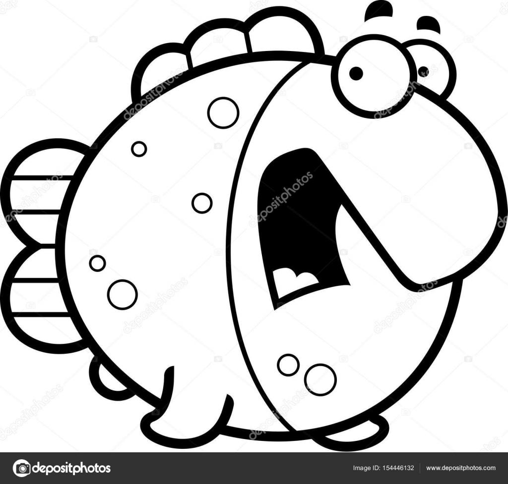 Dibujos Animados De Terror Para Colorear Miedo De Dibujos