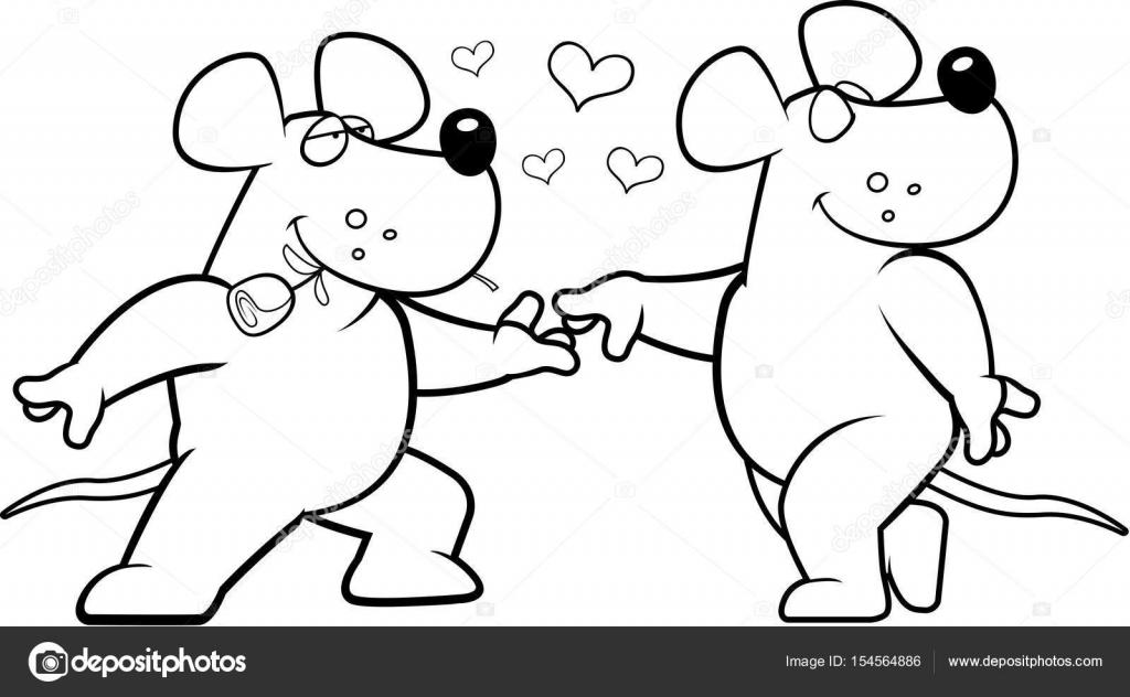 Dibujos: animados de dos ratas | Romance de rata de dibujos animados ...