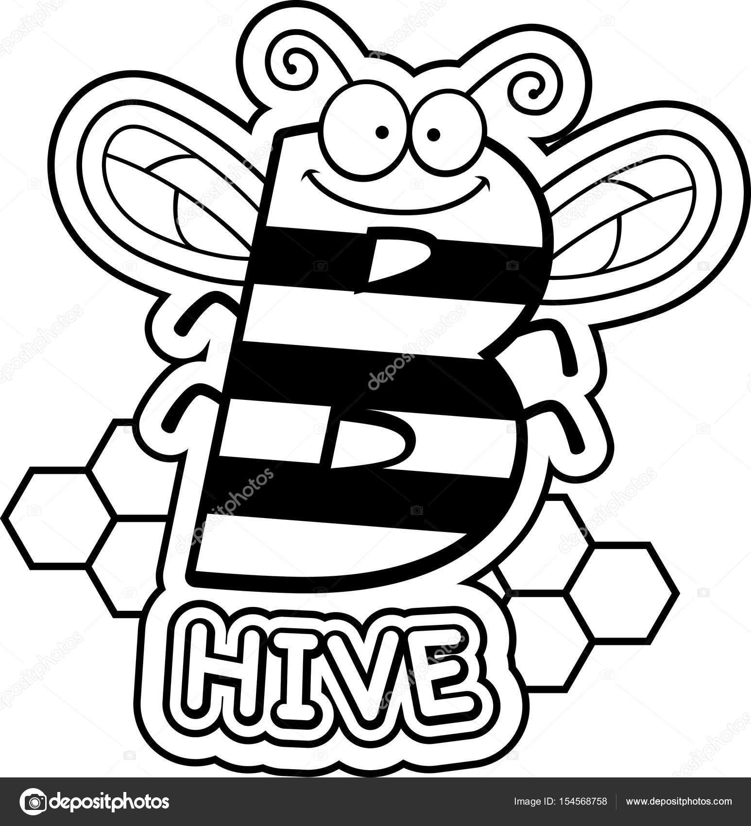 Kovan arı resmi boyama