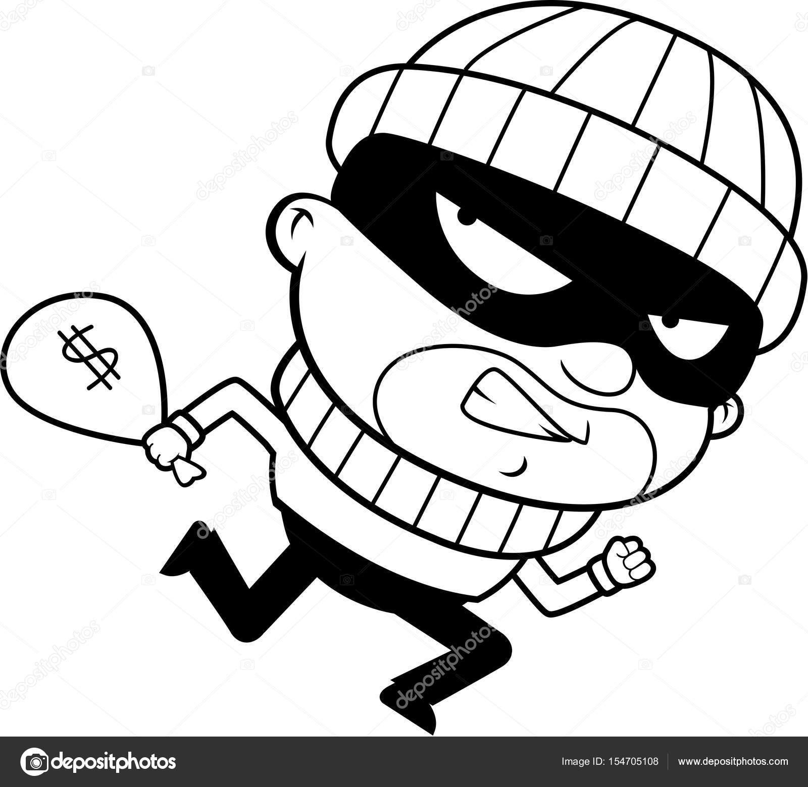 Dibujos Animados Ladrón