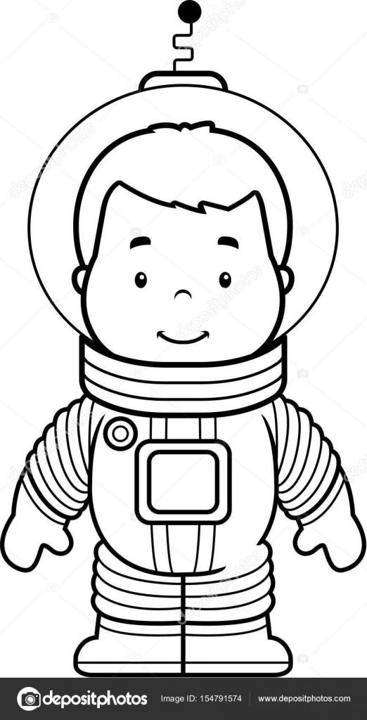 Dibujos: astronauta dibujo infantil | Dibujos animados astronauta ...