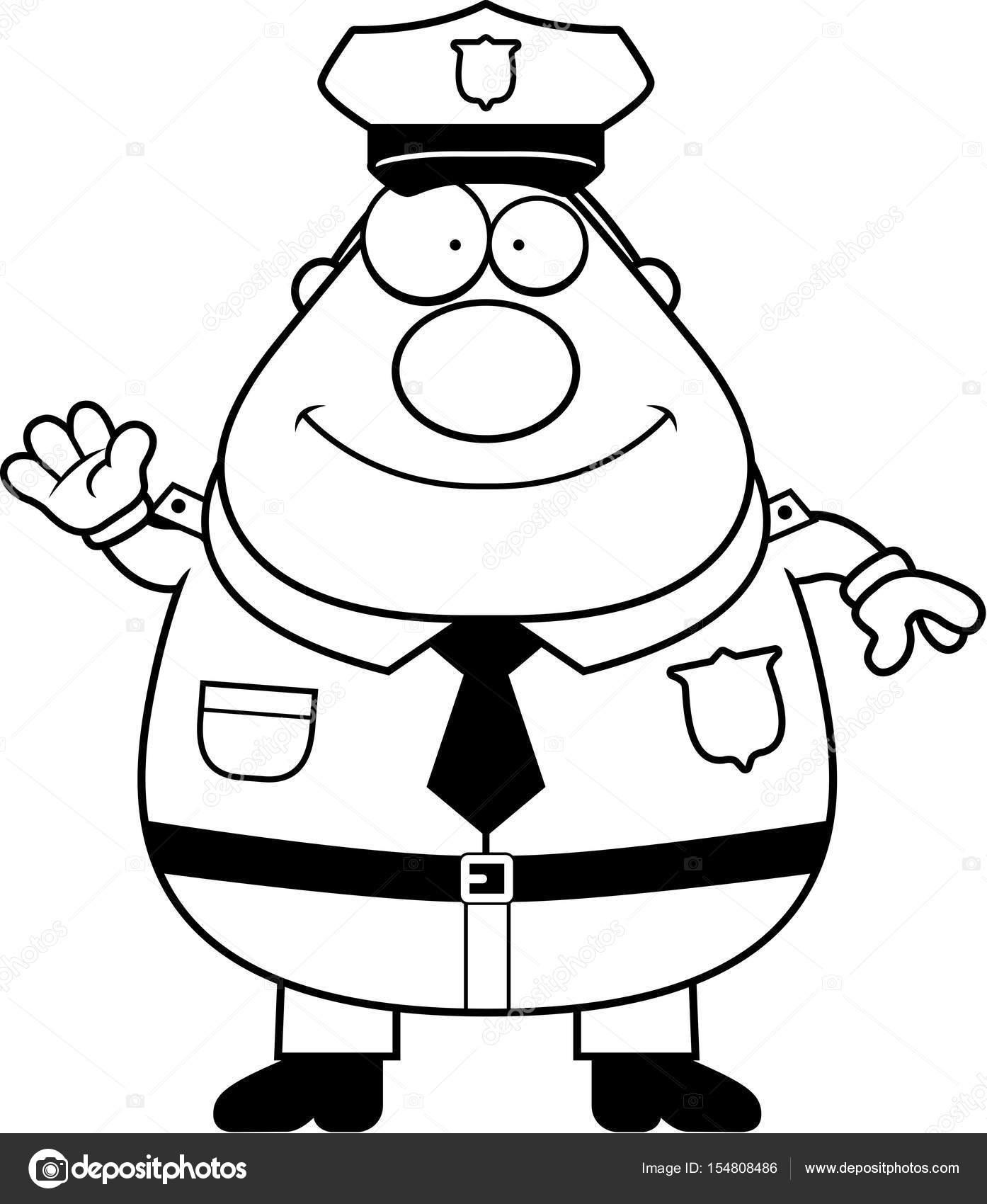 Kresleny Mava Policie Stock Vektor C Cthoman 154808486
