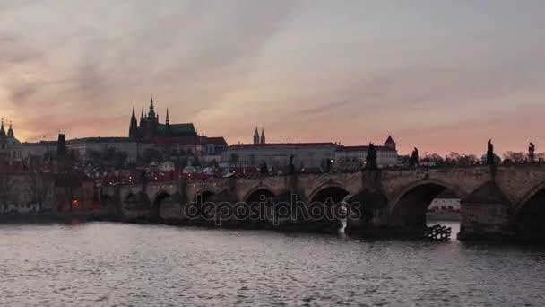 Karlův most a čas zanikla oddálit Střelba v den noční pohled