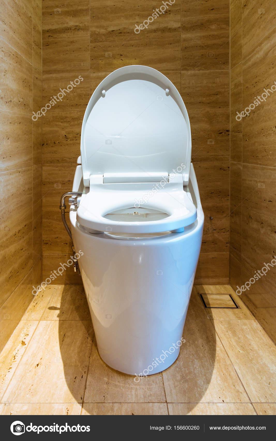 WC-Schüssel und Innendekoration, Architektur-Design. — Stockfoto ...