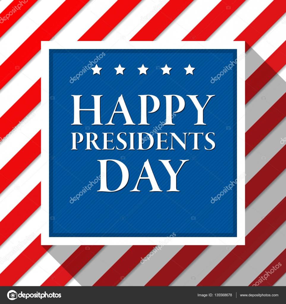 Fondo de vector de día de Presidentes. Colores de la bandera ...